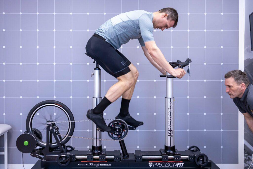 Rezervace - nastavení posedu na kole